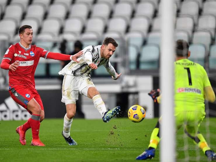 Ramsey Juventus Spal