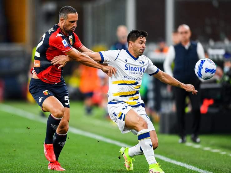 Simeone difende palla - Getty Images