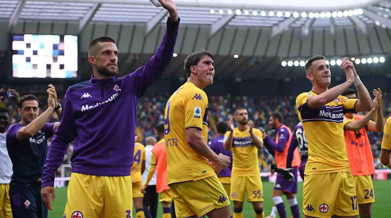 Esulta Fiorentina - Getty Images